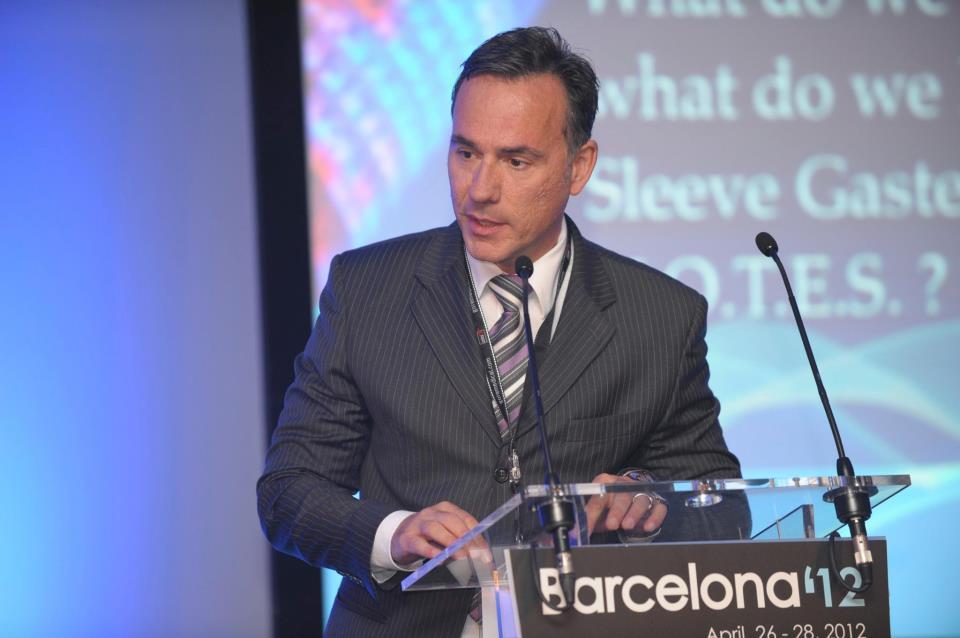 Caetano Marchesini no Congresso Europeu de Obesidade em Barcelona