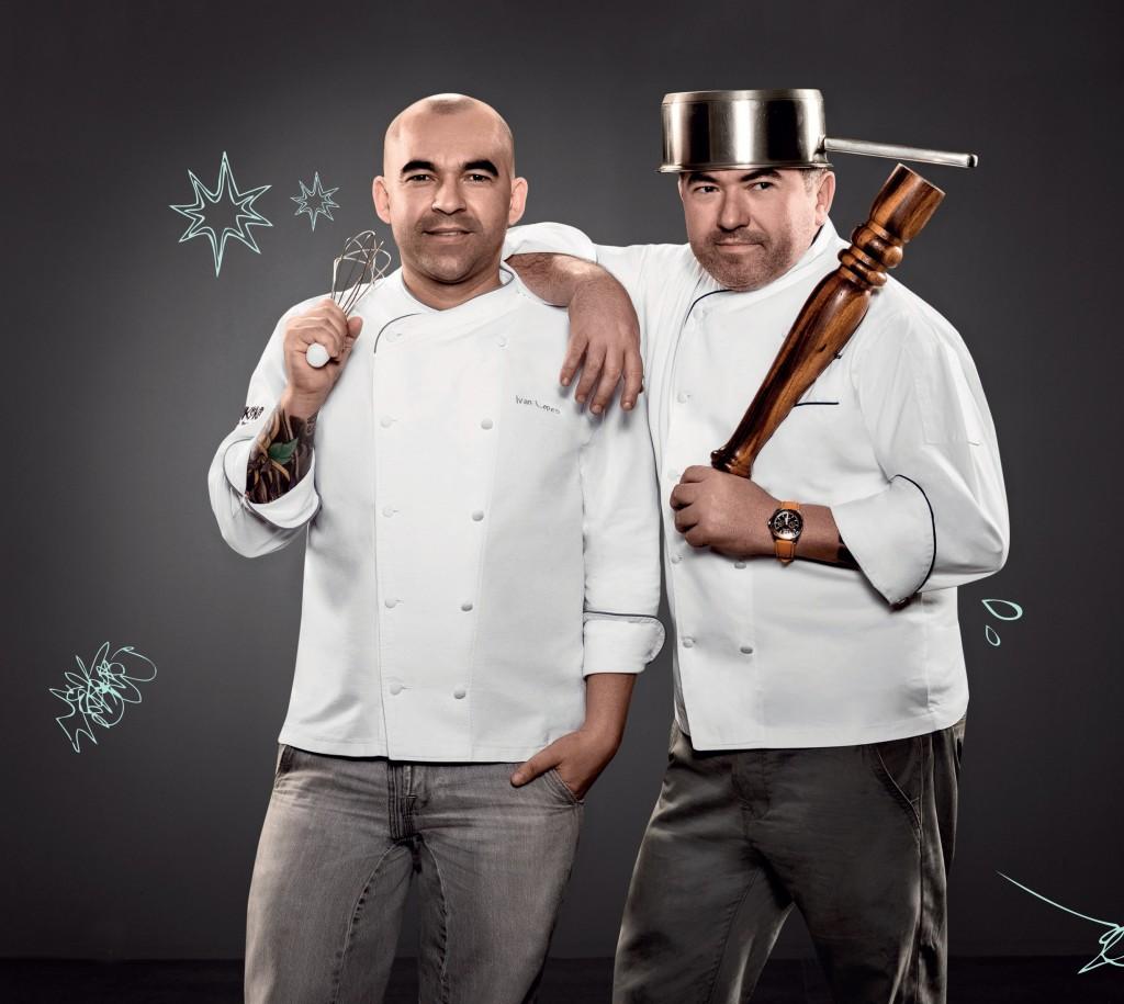 Os chefs irmãos Ivo e Ivan Lopes. (foto: divulgação)