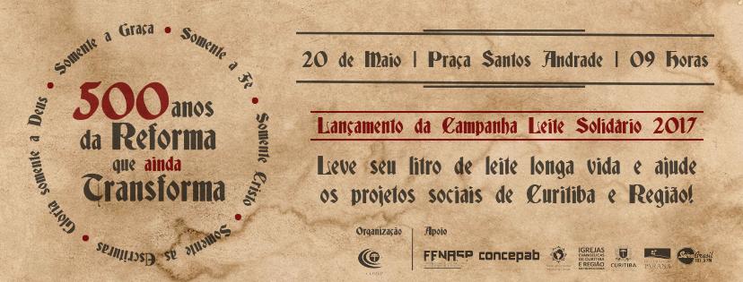 Imagem / Facebook Marcha Para Jesus Curitiba