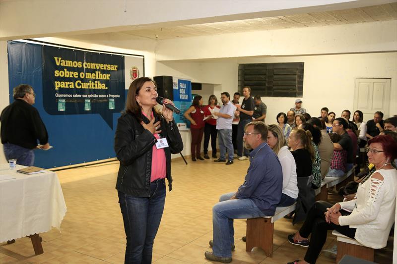 """Lançamento do programa """"Fala Curitiba"""" lota paróquia Bom Jesus no Cachoeira"""" na regional Boa Vista. Curitiba25./05/2017 Foto:Luiz Costa/SMCS"""